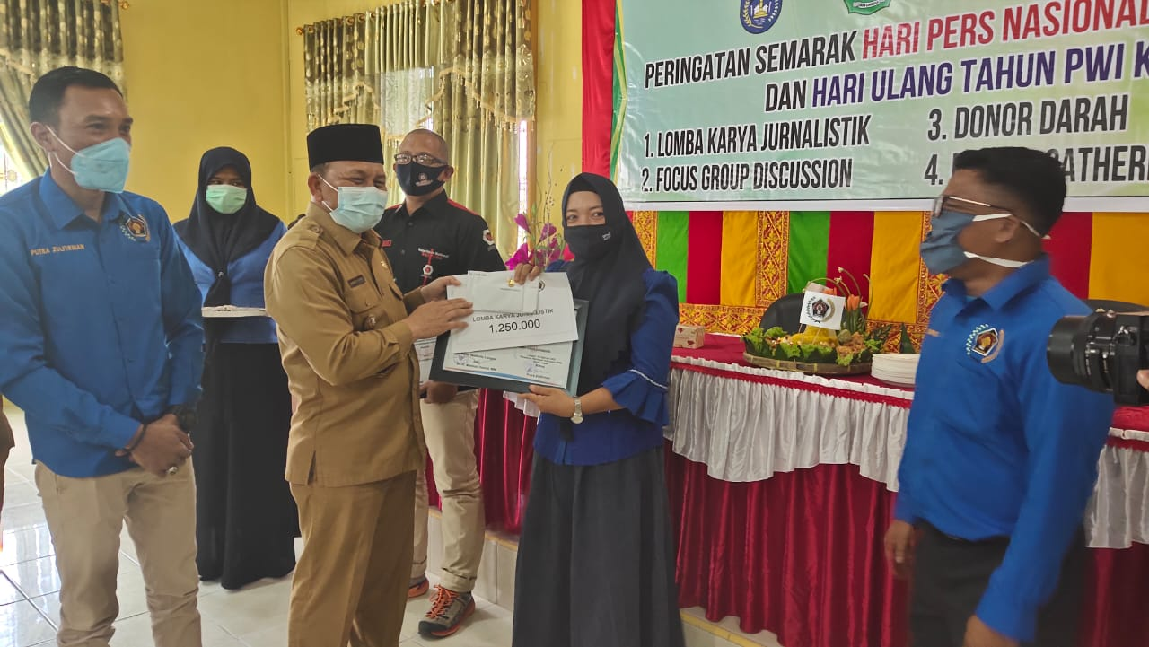 Jurnalis Dialeksis, Juara 2 Lomba Karya Jurnalistik PWI Langsa