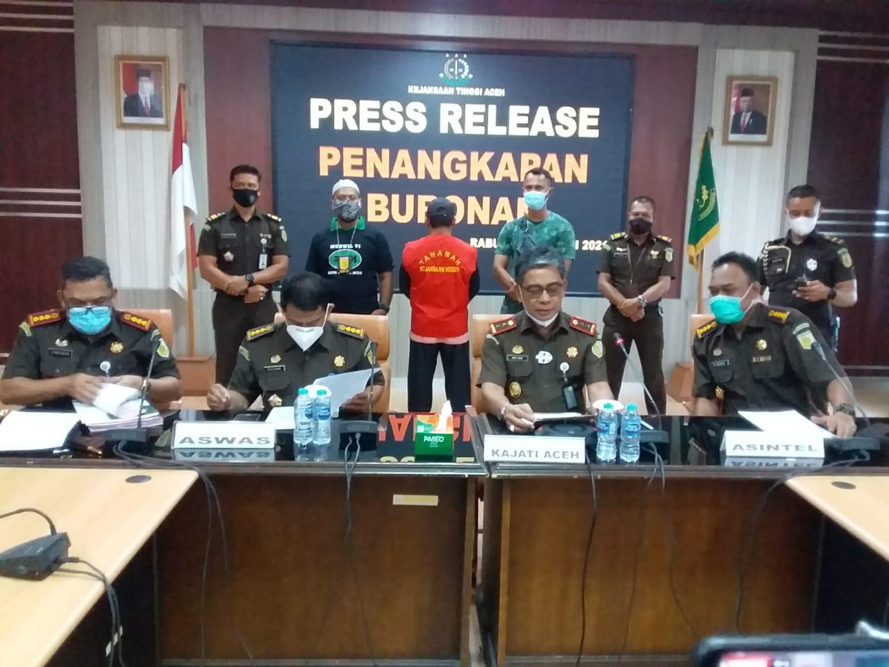 Tim Tabur Kejati Aceh Ciduk DPO Pemalsuan