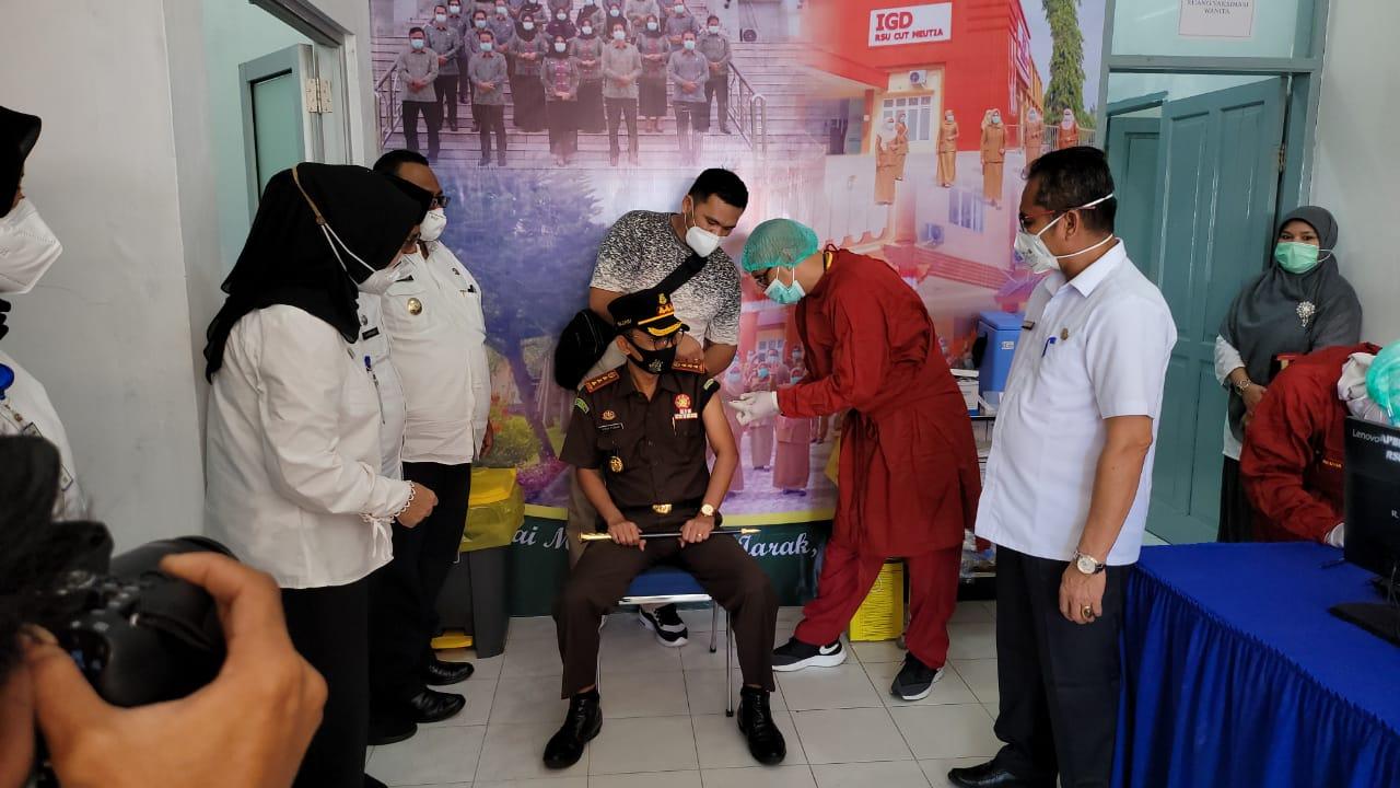 Aceh Utara Masih Kekurangan Vaksin Covid-19