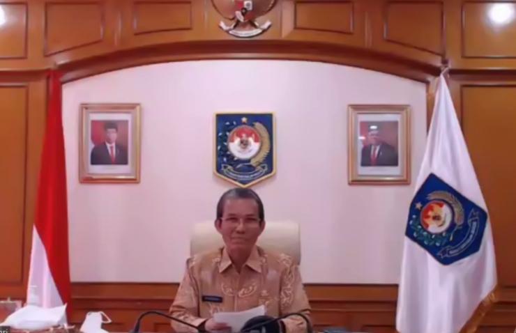 Dukung Penanganan Covid-19, Kemendagri Terima Satu Juta Masker dari Kementerian BUMN