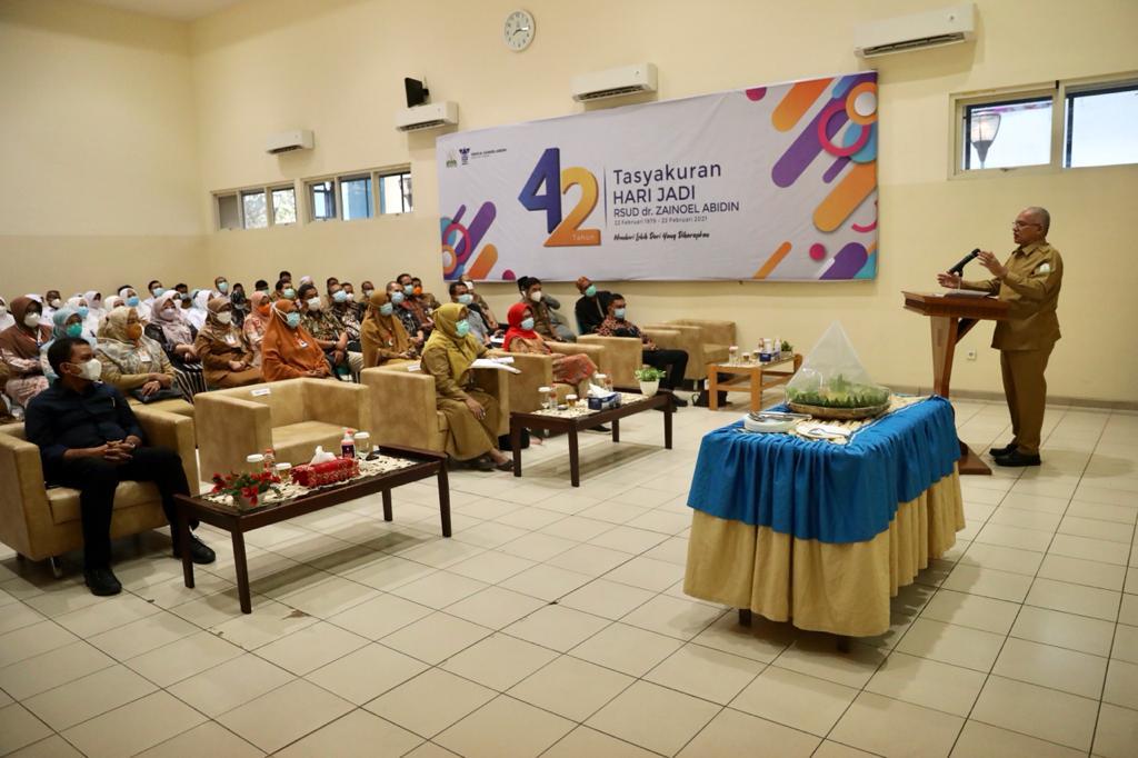 Sekda Aceh: Di Usia ke-42 tahun, RSUDZA Harus Mampu Hadapi Semua Tantangan