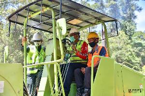 Gubernur Nova Ground Breaking Peningkatan Jalan Aceh Selatan dan Singkil
