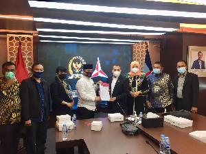 Dukung Pilkada Aceh 2022, Fraksi Demokrat DPR RI Terima Kunjungan Komisi I DPRA