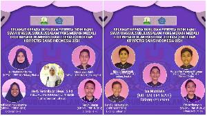 Guru dan Siswa Aceh Boyong Medali di Tingkat Nasional