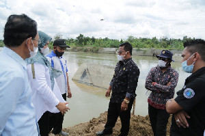 Bendungan Karet Lambaro Bocor, Aminullah Minta BWS Cepat Tuntaskan Perbaikan