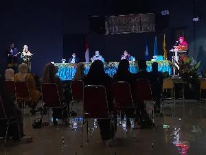 ISBI Aceh Yudisium 39 Calon Wisudawan S1 Jurusan Seni Pertunjukan, Jurusan Seni Rupa dan Desain