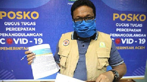 Jubir Covid Aceh: 49. 667 Tenaga Kesehatan di Aceh Sudah Divaksin Covid-19