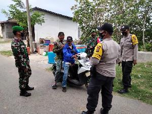 Polsek Pulo Aceh dan Koramil 16/Pulo Aceh Sinergitas Laksanakan Patroli Bersama