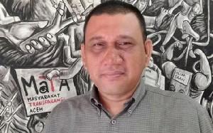 MaTA Dukung Polda Aceh Usut Pembangunan Wastafel