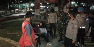 Operasi Disiplin Prokes di Pusat Keramaian Kota Langsa, Masih Terdapat Warga yang Tak Memakai Masker