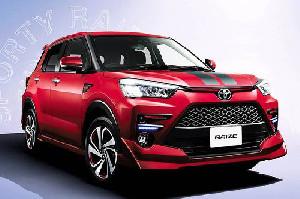 Toyota Raize Tawarkan Kenyaman dan Fitur Hiburan di Dalam Mobil