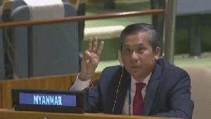 Junta Militer Myanmar, Pecat Kyaw Moe Tun sebagai Dubes Myanmar untuk PBB