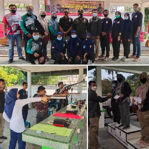 Jaring Bibit Atlet Berprestasi, GAD SC Gelar Event Internal Menembak