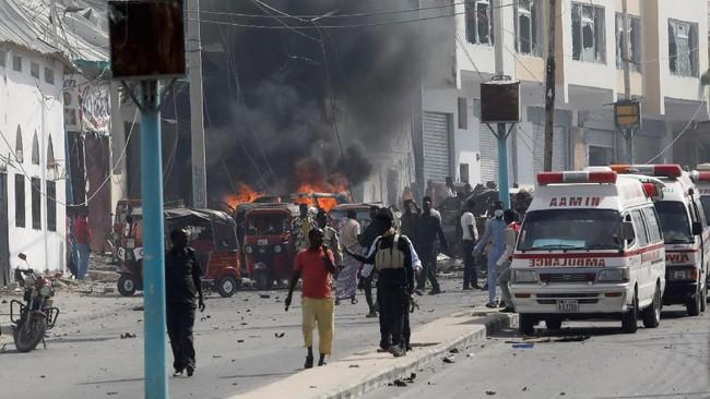 Insiden Bom Mobil di Somalia Telan Tiga Korban