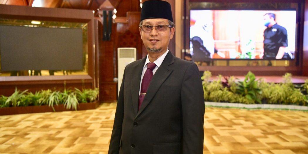 Asisten Administrasi Umum Sekda Aceh Ikuti Peluncuran Laporan Tahunan Ombudsman