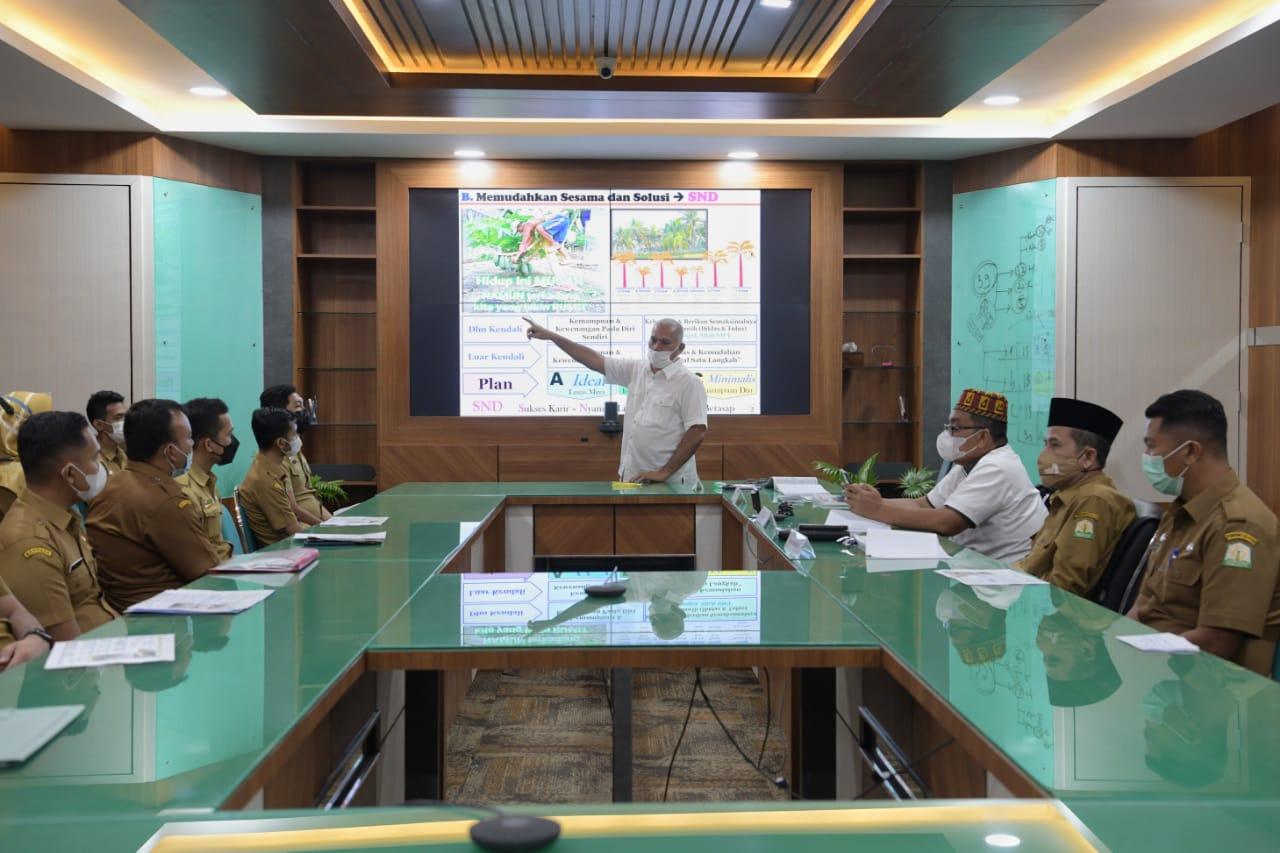 Sekda Aceh Minta ASN Lulusan IPDN Pertahankan Sikap Profesional