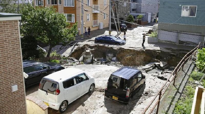 Jepang Dilanda Gempa Besar 7 Skala Richter, Tsunamikah?