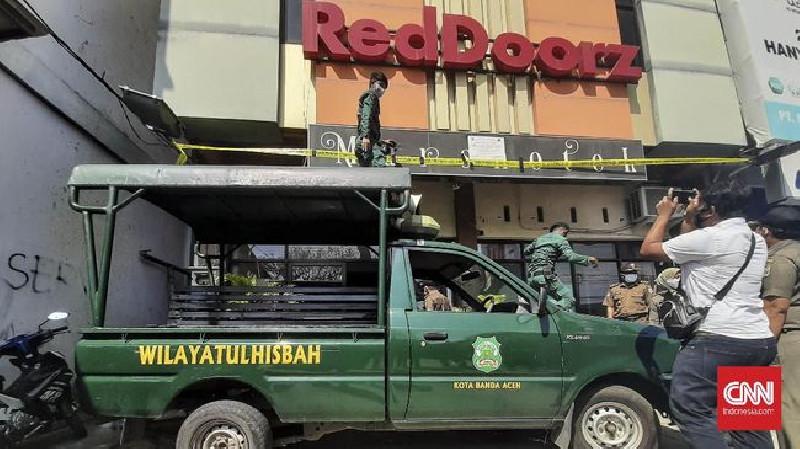 Langgar Syariat Islam, Hotel di Banda Aceh Disegel