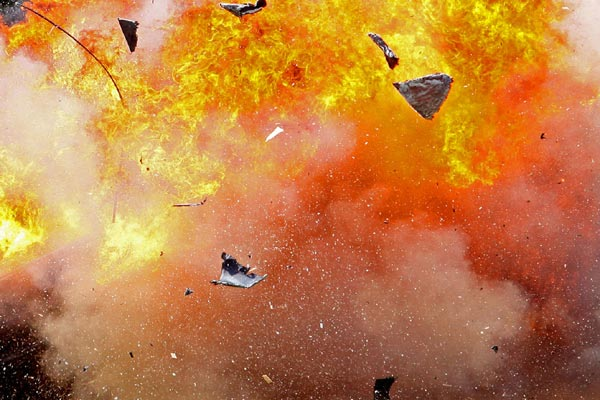 Bom Meledak Dekat Istana Presiden Somalia