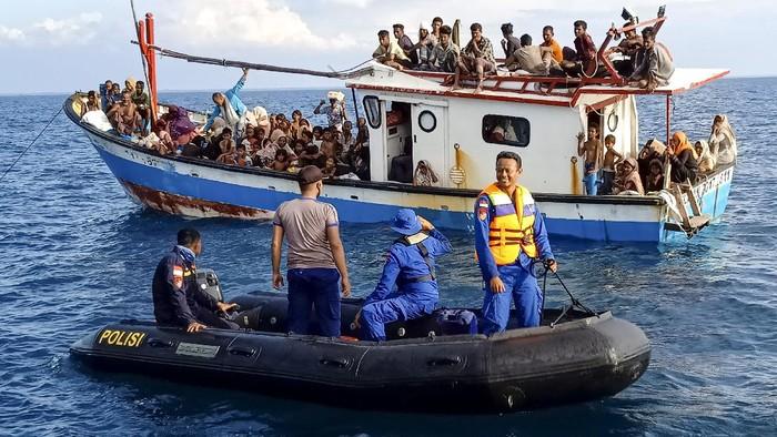 Polda Aceh Limpahkan Kasus Penyeludupan Rohingya ke Jaksa