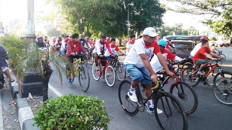 Ikuti Balap Sepeda Tour de Koetaradja di Aceh, Jarak Tempuh 71 Kilometer