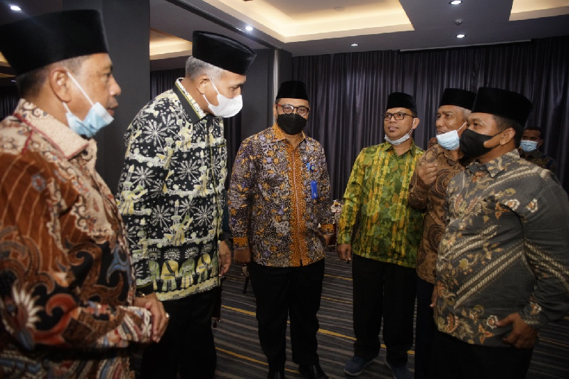Kemenag Aceh Susun Rencana Kerja dan Anggaran 2022