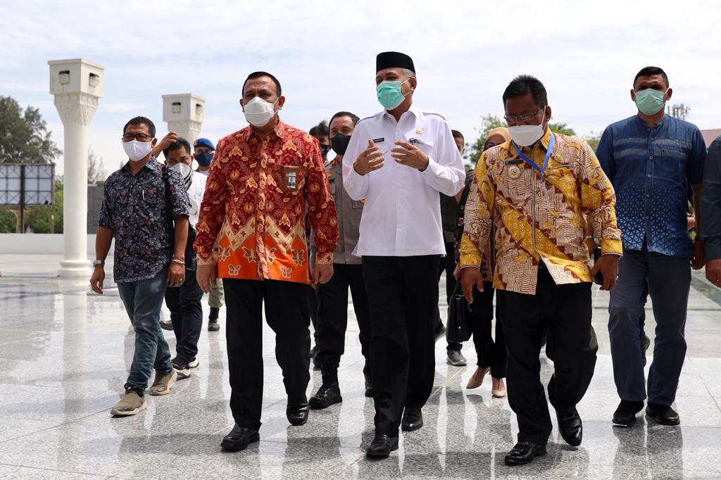 Gubernur Nova Apresiasi Ketua KPK Bantu Sukseskan Pengalihan Aset di Aceh