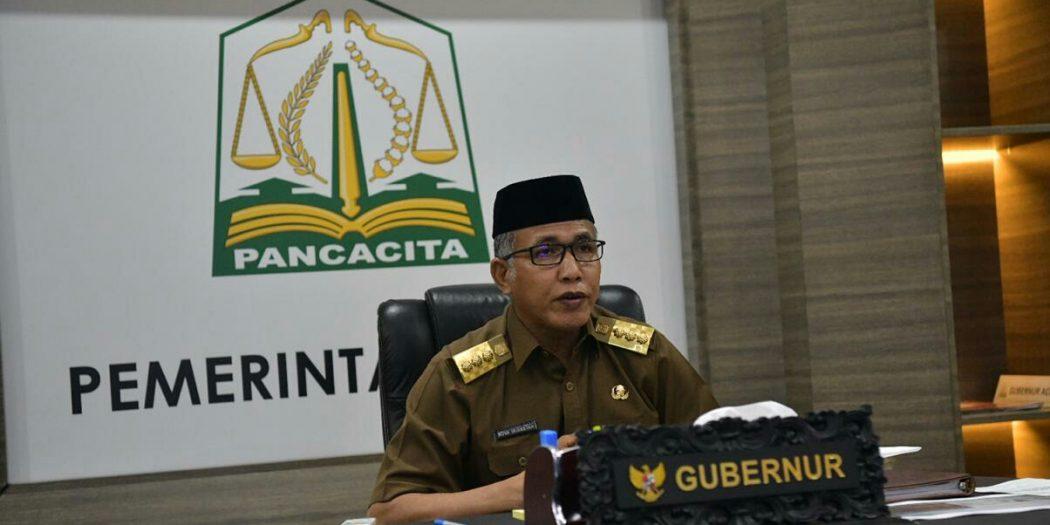 Tindaklanjut Rakor MCP dengan KPK, Gubernur Undang Rapat Sekda Seluruh Kabupaten/Kota
