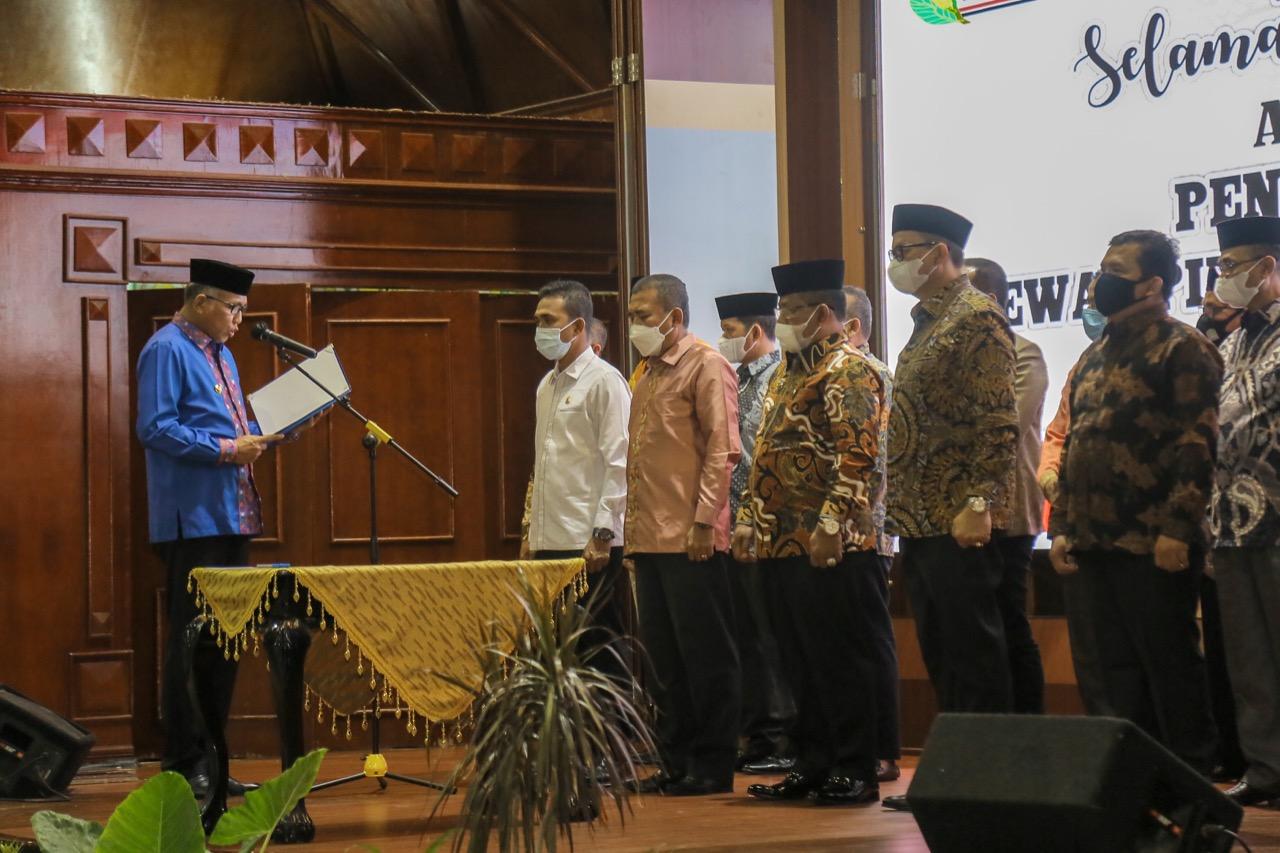 Gubernur Kukuhkan Kepengurusan Forum KKA
