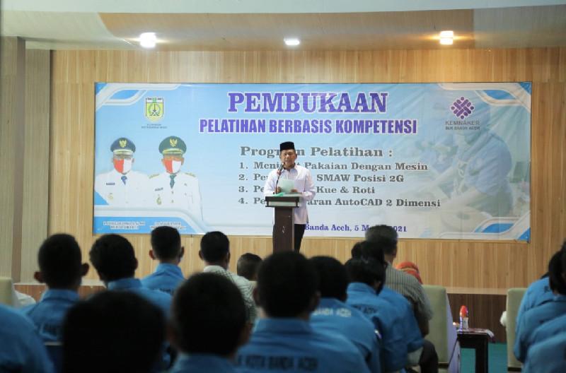 Buka Pelatihan Berbasis Kompetensi, Ini Pesan Chek Zainal