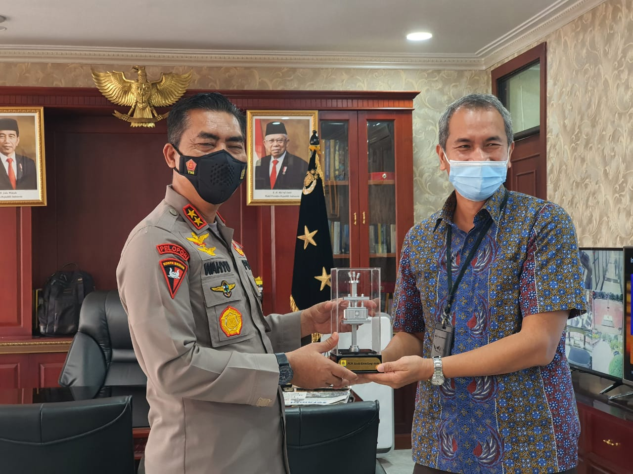 GM PLN Aceh Silaturrahmi dengan Kapolda Aceh