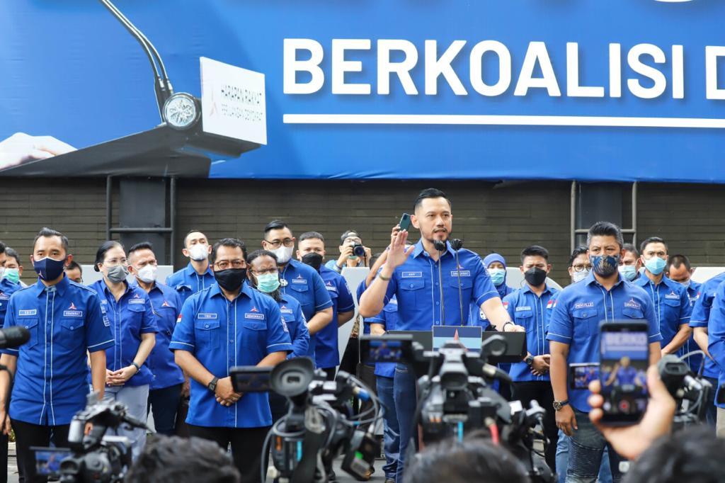 AHY: Tak Ada Dualisme di Tubuh Demokrat, Ketum Sah Agus Harimurti Yudhoyono