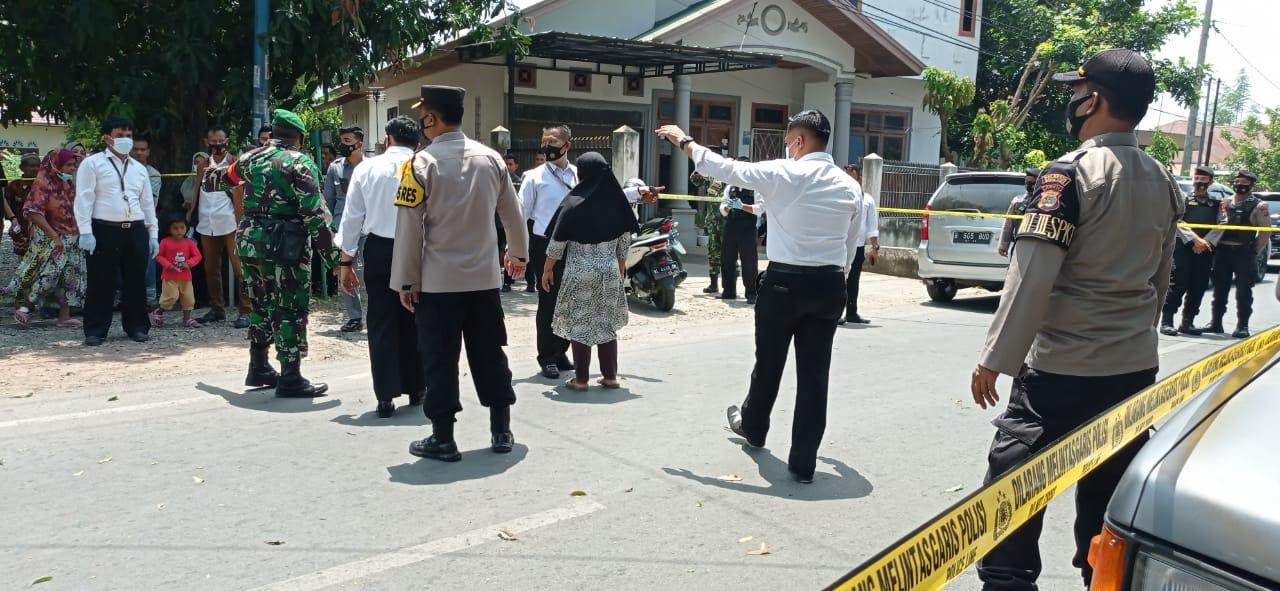Ledakan Diduga Bom Terjadi di Kecamatan Banda Raya