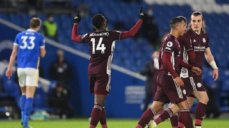 Usai Leicester Atas Brighton 2-1 Posisi Kedua Salip MU