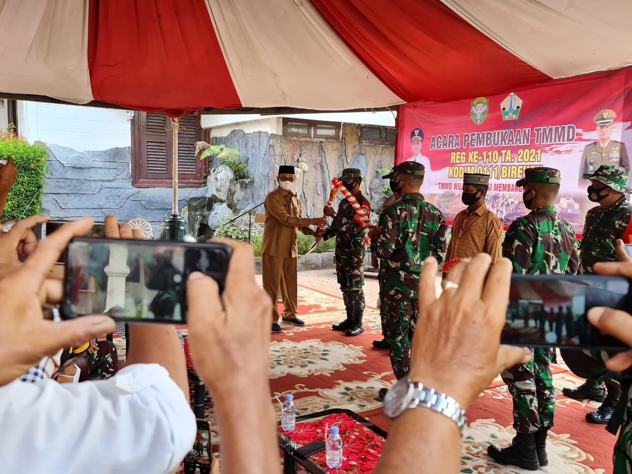Tentara Manunggal Membangun Desa ke-110 Kodim Bireuen Resmi Dibuka