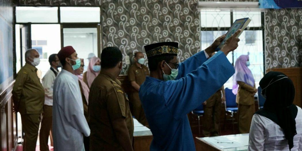 9.499 Tenaga Kontrak Pemerintah Aceh 2021 Ikrarkan Sumpah