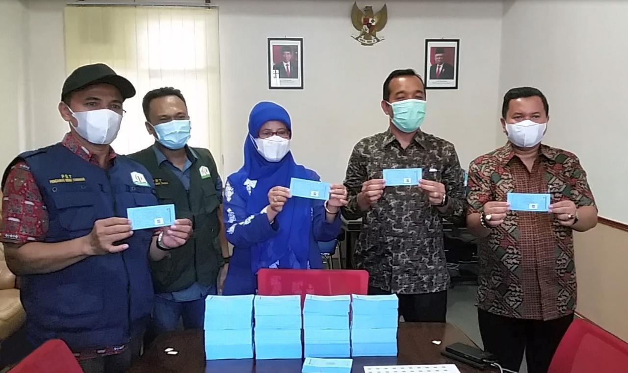 Distanbun Aceh Launching Label Benih Padi Berbarcode/QR