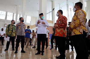 Gubernur Sampaikan Capaian LHKPN Pejabat Pemerintah Aceh kepada Pimpinan KPK