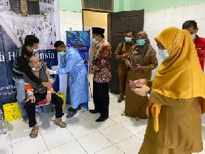 363 Calon Jemaah Haji Asal Pidie Disuntik Vaksinasi Covid-19