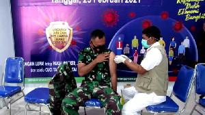 Dandim 0106/Ateng dan Personel Telah Dilakukan Vaksin