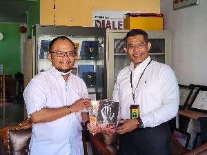 Berkunjung ke Dialeksis, Bank Syariah Bukopin Dukung Penerapan LKS di Aceh