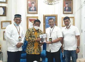 Bank Syariah Bukopin Silaturrahmi dengan Ketua MES Aceh