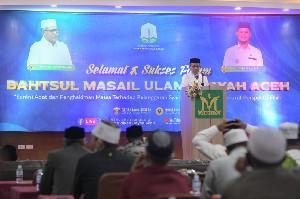 Pemerintah Aceh Dukung Penguatan Syariat Islam yang Dilakukan Ulama Dayah