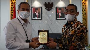 Silaturrahmi dengan Ketua DPRA, GM PLN Aceh Sampaikan Kemajuan Kelistrikan Aceh