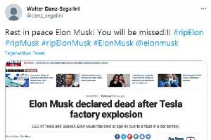 Soal Kabar Elon Mask Meninggal, Begini Faktanya