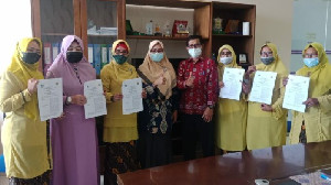 Percepat Penyaluran KIA, Disdukcapil Tanda Tangan PKS dengan TK Negeri Se-Banda Aceh