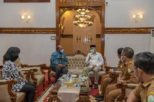 Terima Kunjungan Wagub Papua Barat, Gubernur Aceh Bahas Hutan dan Toleransi Beragama