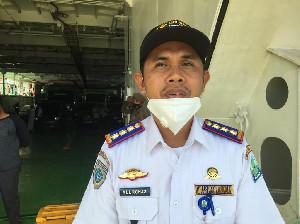 Kadishub Simeulue Jadi Penumpang Perdana KMP Aceh Hebat 1