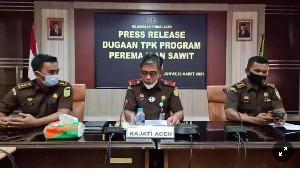 Kejati Aceh Tingkatkan Kasus Dugaan Korupsi Program Peremajaan Sawit Rakyat ke Tahap Penyidikan