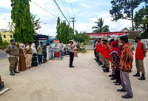 Puluhan Pelanggar Terjaring Razia Rutin Disiplin Prokes Kota Langsa